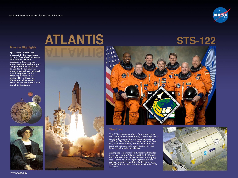 space shuttle atlantis poster - photo #35