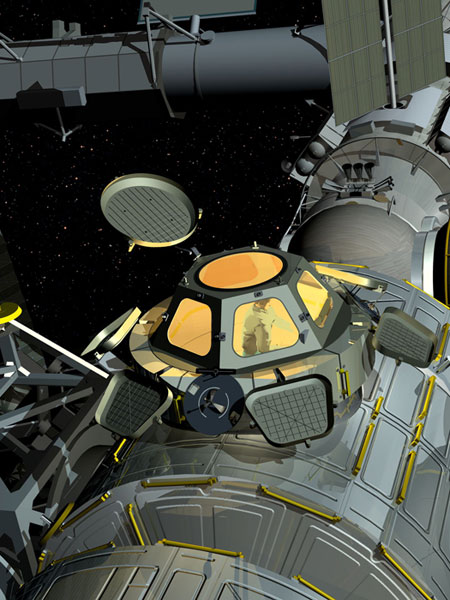 Nasa Cupola The Space Station S Room With A View
