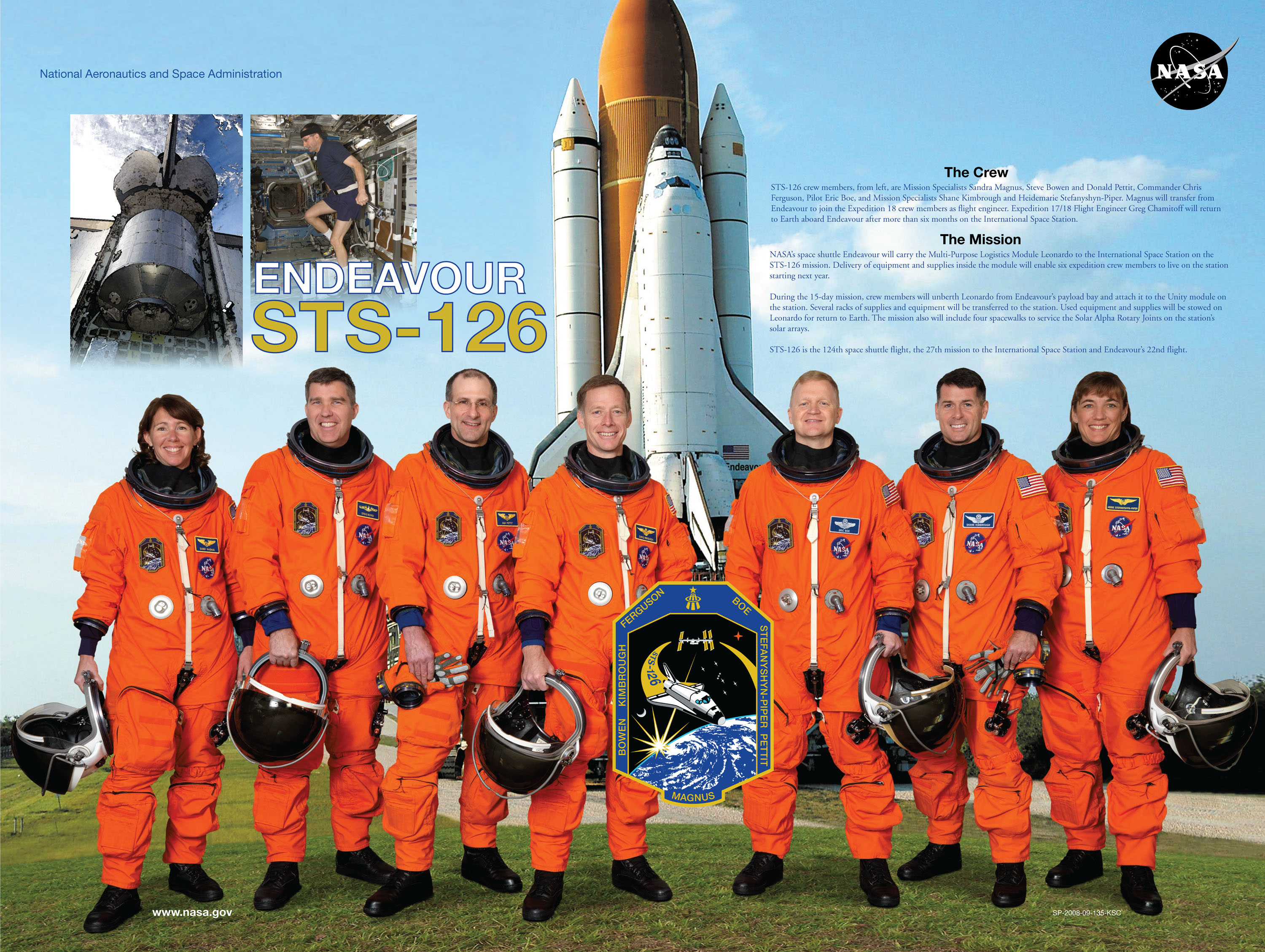 space shuttle discovery crew - photo #15