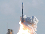 Delta II launch vehicle with STSS payload