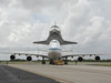 Discovery atop the Shuttle Carrier Aircraft