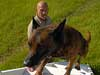 K-9 Unit Lead Ken Cox and his partner Joep