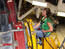Jessica Tandy, Rocketdyne turbo machinery engineer