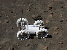 Rover testing in Hawaii