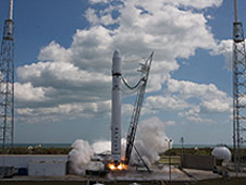 The SpaceX Falcon 9