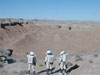 Mars mission simulation in the Utah desert.