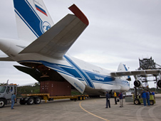 Russian Antonov aircraft delivers MRM1