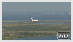 STS-132 lands in Florida