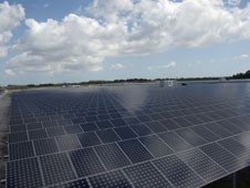 Solar panels at Kennedy