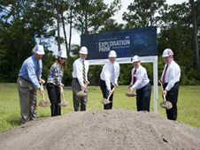 Exploration Park groundbreaking ceremony