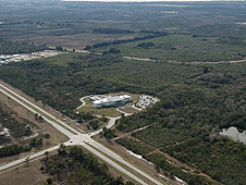 Space Life Sciences Laboratory and site of Exploration Park
