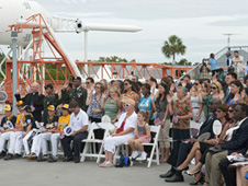 Group takes oath at KSC