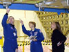 STS-114 crew members participate in CEIT at Kennedy