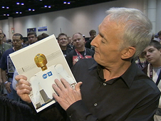 Actor Anthony Daniels, who played C-3PO