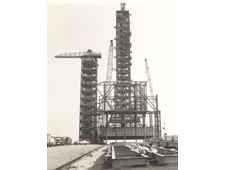 Pad 39A payload changeout room construction