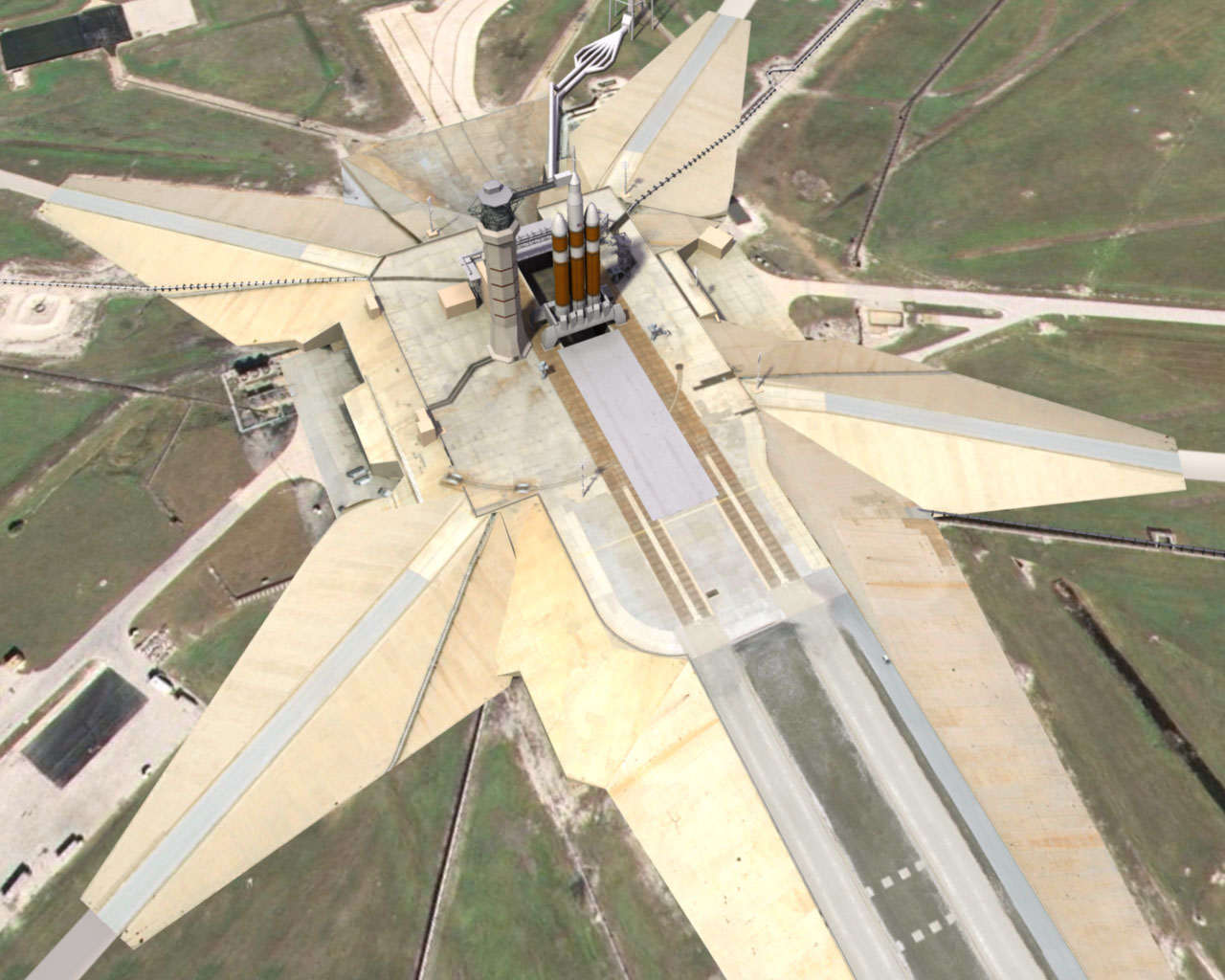 NASA - Evolution of Launch Pad 39A Ever-changing