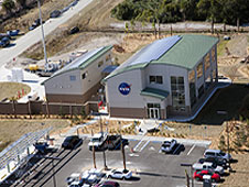 The Propellants North facility seen from the air.