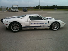 Johnny Bohmer drove this Ford GT to record speeds.