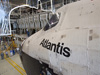 Atlantis is prepared for STS-135 and final mission in OPF-1