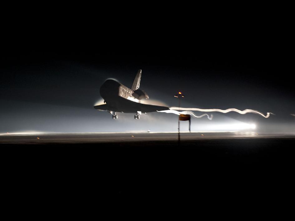 Final Atlantis Landing