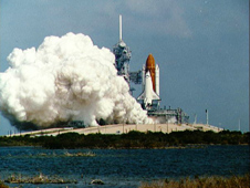 space shuttle engines firing - photo #15