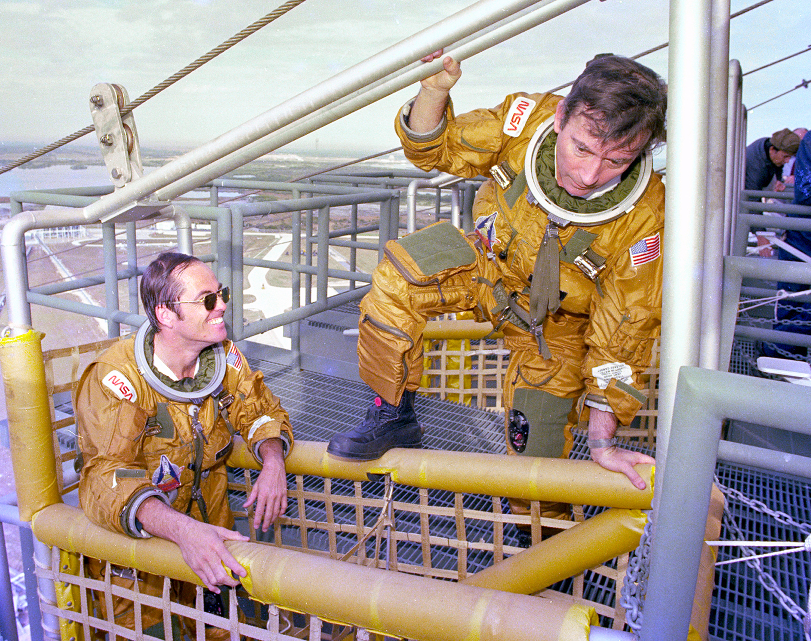 Nasa 1980s All Eyes Focus On Space Shuttle