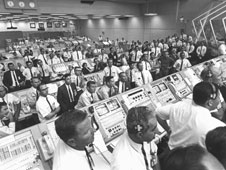 The Launch Control Center during Apollo 11.
