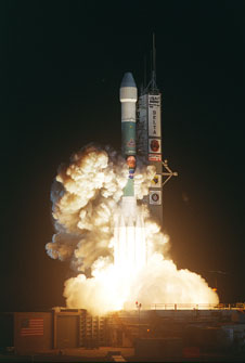 Mars Exploration Rover, Opportunity, launches aboard a Delta II.
