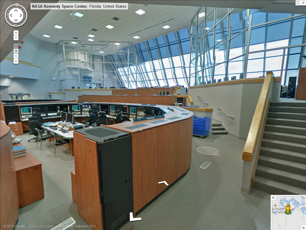 NASA - Tour Kennedy Space Center with Google Street View