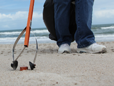 Volunteers pick up trash from Kennedy Space Center beaches