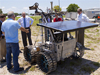 Prototype rover Artemis Jr. for NASA's Regolith and Environment Science and Oxygen and Lunar Volatile Extraction project