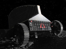 The Astrobotic concept of its rover