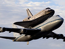 Endeavour on SCA