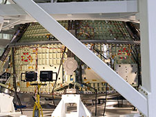 Orion in Test Stand