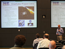 Jared Berg presents CryoCube proposal.
