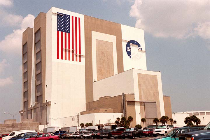 NASA American Flag Building - Pics about space