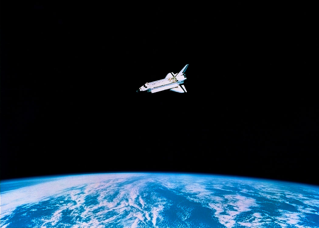 if an astronaut in an orbiting space shuttle wished - photo #2
