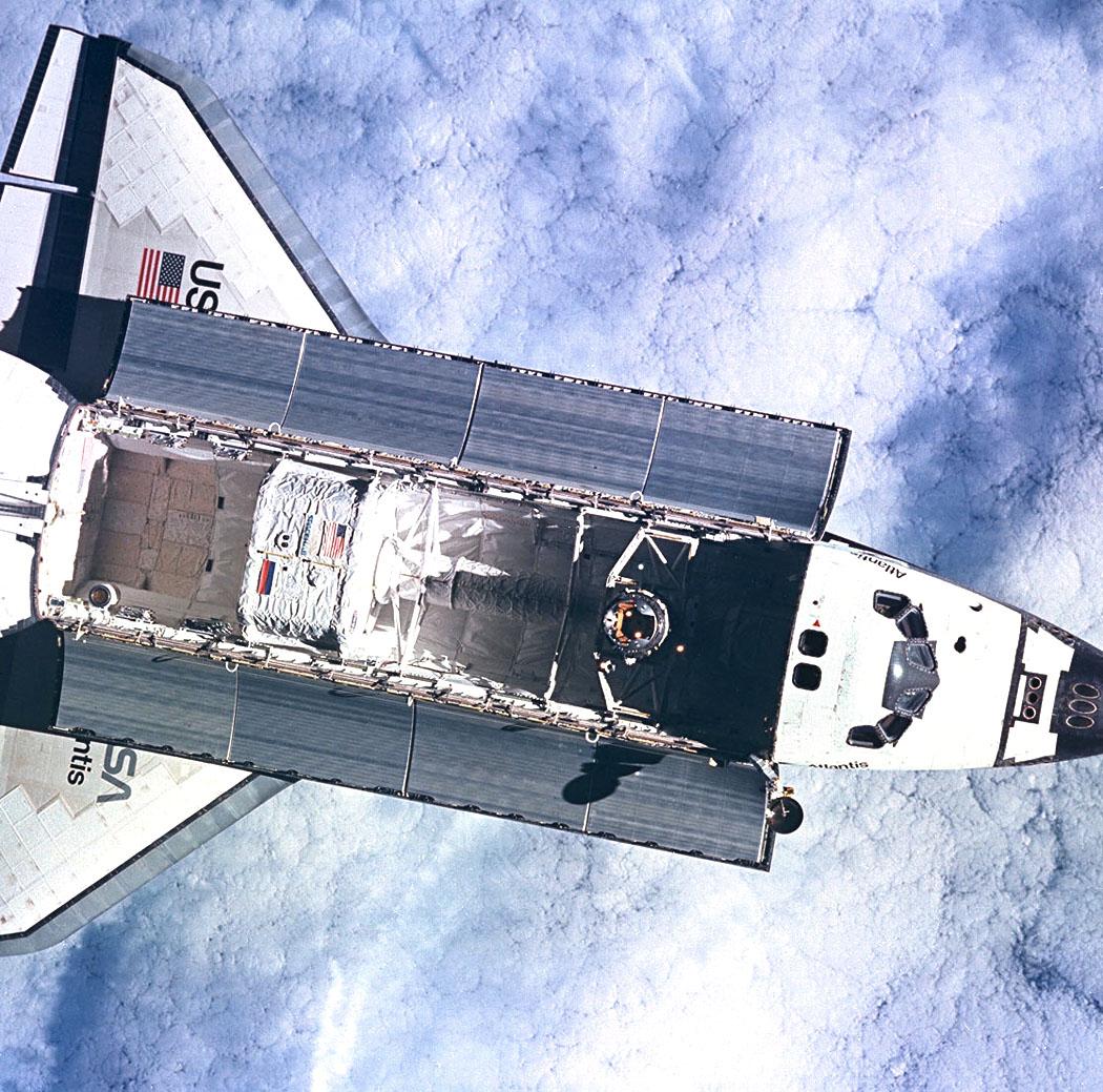 future space shuttle in orbit - photo #23