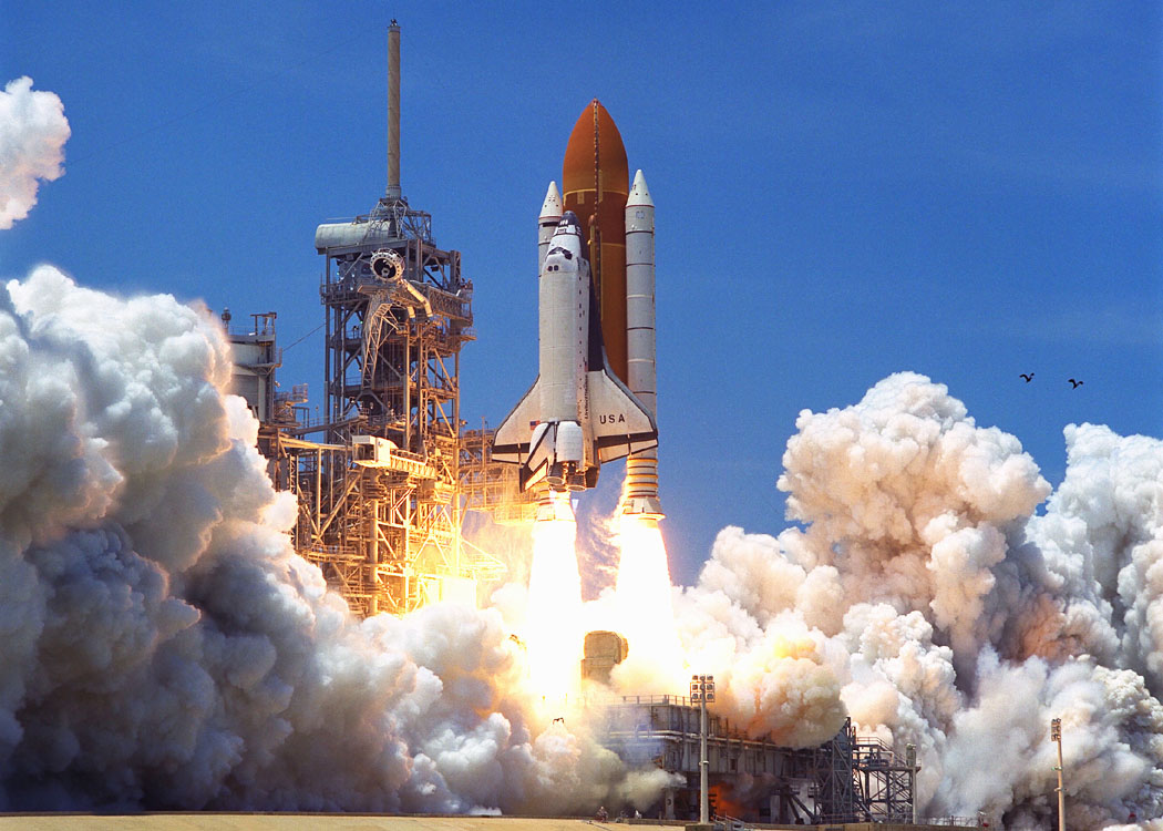 space shuttle columbia take off - photo #6