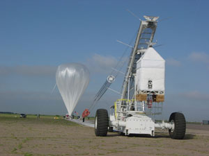 On June 7, 2005, the Far-Infrared Spectroscopy of the Troposphere, or FIRST, sensor was launched on an 11 million cubic foot, helium-filled, pilotless balloon.
