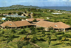 This is a photo of the Mbita Point Research and Training Centre on the shores of Lake Victoria Kenya.