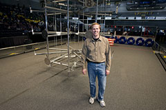 NASA Langley's Deputy Chief Information Officer, Jeff Seaton, has done yeoman's work supporting the FIRST Robotics Competition Richmond regional event for nearly 10 years