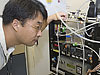 Yonghoon Choi with in situ carbon dioxide sensor
