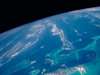 Earth from space -- a view of the Bahamas from the International Space Station