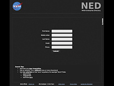 NED - NASA Enterprise Directory