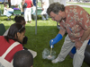 kids having fun with science at EarthFest