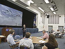 Susan Buhr, Climate communications workshop.