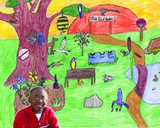 "NASA - Students Portray ""Green"" Potential Through Art"