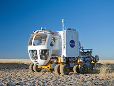 Lunar Electric Rover (LER) test in Ariz. desert