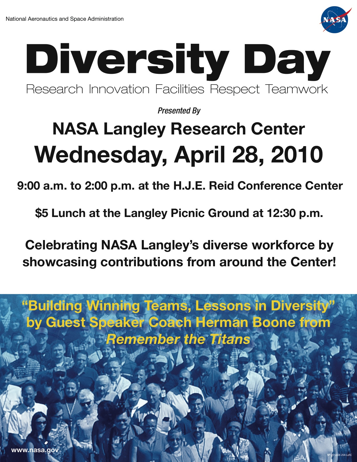 Nasa Diversity Day Is More Than Meets The Eye